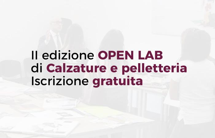 II edizione OPEN LABdi calzature e pelletteria | ITS Campania Moda