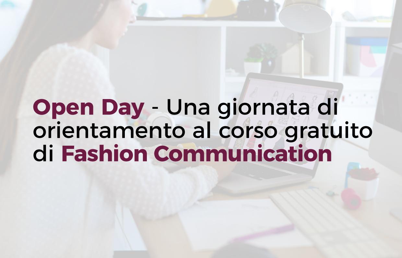 Open Day | Orientamento al corso gratuito Fashion Communication