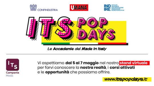 Partecipa agli ITS POP DAYS e scopri di più sul mondo ITS